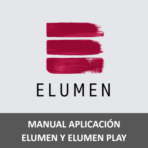 Manual aplicación Elumen y Elumen Play