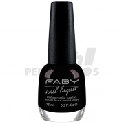 Esmalte Black is Black Faby Cream 15ml LCD006