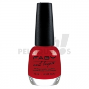 Esmalte Fabys Red Faby Cream 15ml LCF100