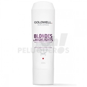 Dualsenses Blondes & Highlight Anti-Yellow Acondicionador 200ml