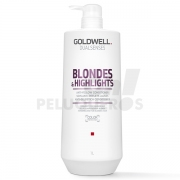 Dualsenses Blondes & Highlight Anti-Yellow Acondicionador Litro