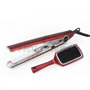 Plancha de Pelo C1 Ethnic Metallic Red Soft-Touch
