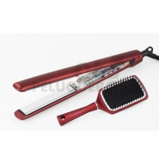 Plancha de Pelo C3 Ethnic Metallic Red Soft-Touch