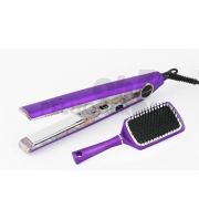 Plancha de Pelo C1 Ethnic Metallic Purple Soft-Touch