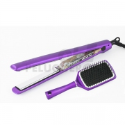 Plancha de Pelo C3 Set Ethnic Metallic Purple Soft-Touch