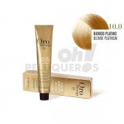 Crema Colorante Permanente Sin Amoniaco Rubio Platino Natural 100ml