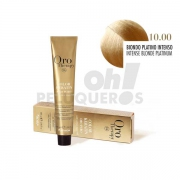 Crema Colorante Permanente Sin Amoniaco Rubio Platino Intenso 100ml