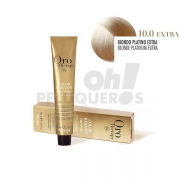 Crema Colorante Permanente Sin Amoniaco Rubio Platino Extra 100ml