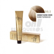 Crema Colorante Permanente Sin Amoniaco Rubio Platino Ceniza 100ml