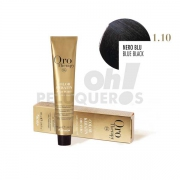 Crema Colorante Permanente Sin Amoniaco Negro Azul 100ml