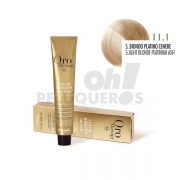 Crema Colorante Permanente Sin Amoniaco Super Rubio Platino Ceniza 100ml