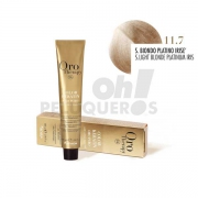 Crema Colorante Permanente Sin Amoniaco Super Rubio Platino Irisado 100ml