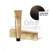 Crema Colorante Permanente Sin Amoniaco Castaño Oscuro 100ml
