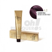 Crema Colorante Permanente Sin Amoniaco Castaño Violeta 100ml