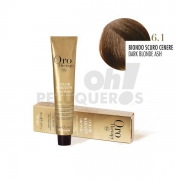 Crema Colorante Permanente Sin Amoniaco Rubio Oscuro Ceniza 100ml