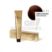 Crema Colorante Permanente Sin Amoniaco Rubio Oscuro Beige 100ml