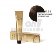 Crema Colorante Permanente Sin Amoniaco Chocolate Fondant 100ml