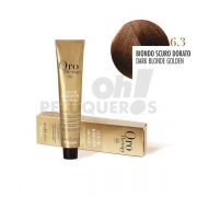 Crema Colorante Permanente Sin Amoniaco Rubio Oscuro Dorado 100ml