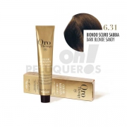 Crema Colorante Permanente Sin Amoniaco Rubio Oscuro Arena 100ml