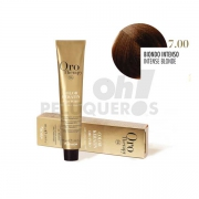 Crema Colorante Permanente Sin Amoniaco Rubio Intenso 100ml