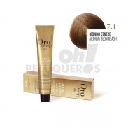 Crema Colorante Permanente Sin Amoniaco Rubio Ceniza 100ml