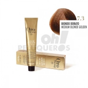 Crema Colorante Permanente Sin Amoniaco RubioDorado 100ml