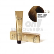 Crema Colorante Permanente Sin Amoniaco Rubio Arena 100ml