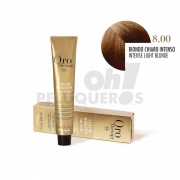 Crema Colorante Permanente Sin Amoniaco Rubio Claro Intenso  100ml