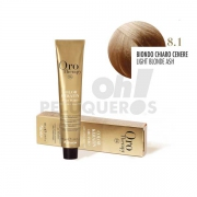 Crema Colorante Permanente Sin Amoniaco Rubio Claro Ceniza 100ml