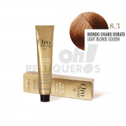 Crema Colorante Permanente Sin Amoniaco Rubio Claro Dorado 100ml