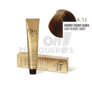 Crema Colorante Permanente Sin Amoniaco Rubio Claro Arena 100ml