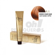 Crema Colorante Permanente Sin Amoniaco Rubio Claro Cobre 100ml