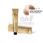 Crema Colorante Permanente Sin Amoniaco Rubio Clarisimo Beige 100ml