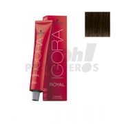 Schwarzkopf Igora Royal 4-0 Castaño medio natural 60ml