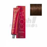 Schwarzkopf Igora Royal 4-6 Castaño Medio Marron 60ml