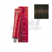 Schwarzkopf Igora Royal 4-63 Castaño Medio Marrón Mate 60ml