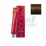 Schwarzkopf Igora Royal 5-00 Castaño Claro Natural 60ml