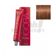 Schwarzkopf Igora Royal 7-57 Rubio Medio Dorado Cobrizo 60ml
