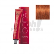 Schwarzkopf Igora Royal 7-77 Rubio Medio Cobrizo Intenso 60ml