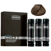 Tinte Cover 5¨nº5 L'Oreal Professionnel Homme 3x50ml